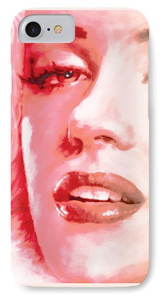 Green And Red Beauty IPhone Case by Atiketta Sangasaeng