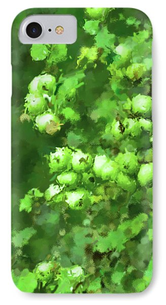 Green Apple On A Branch Phone Case by Toppart Sweden