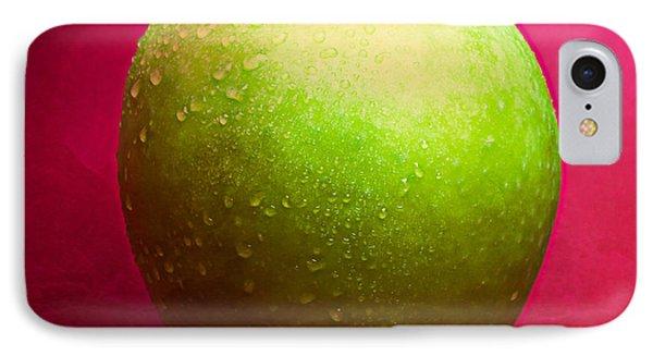 Green Apple Whole 2 IPhone Case by Alexander Senin