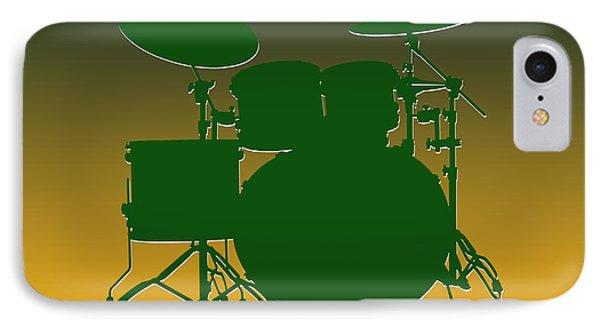 Green Bay Packers Drum Set IPhone 7 Case by Joe Hamilton