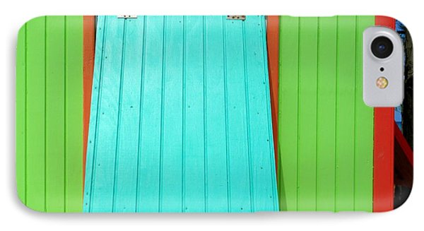 Green Cabin IPhone Case by Randall Weidner