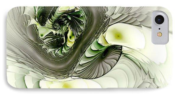 Green Dragon Phone Case by Anastasiya Malakhova