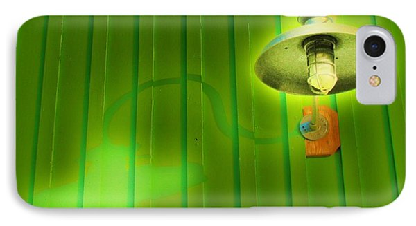 Green Light IPhone Case by John King