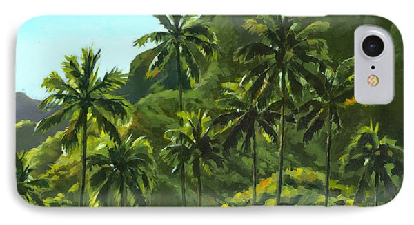Greens Of Kahana IPhone Case by Douglas Simonson