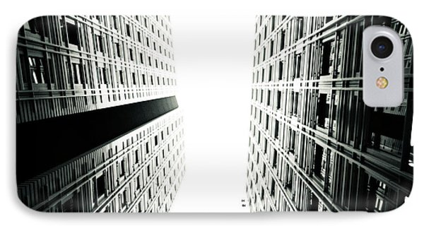Grids Lines And Glass Structure - Google London Offices Phone Case by Lenny Carter