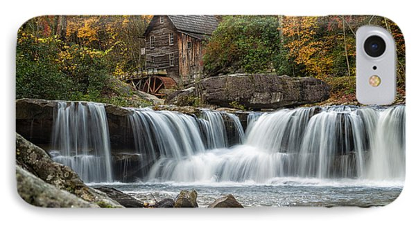 Grist Mill With Vibrant Fall Colors IPhone Case by Lori Coleman