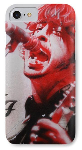 Dave Grohl - ' Grohl II ' IPhone Case by Christian Chapman