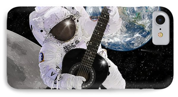 Ground Control To Major Tom Phone Case by Nikki Marie Smith