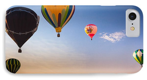 Group Of Balloons Phone Case by Inge Johnsson