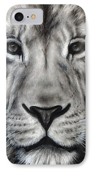Guardian IPhone Case by Courtney Kenny Porto