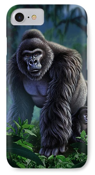 Guardian IPhone Case by Jerry LoFaro