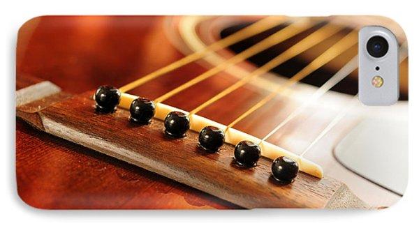 Guitar Bridge IPhone Case by Elena Elisseeva
