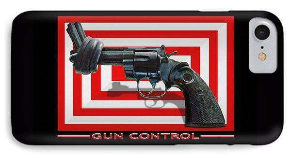 Gun Control Phone Case by Mike McGlothlen