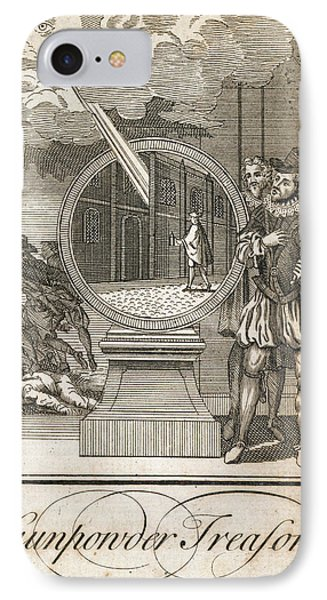 Gunpowder Treason IPhone Case by British Library