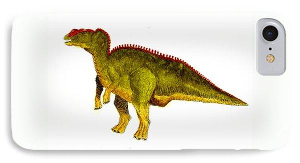 Hadrosaurus IPhone Case by Michael Vigliotti