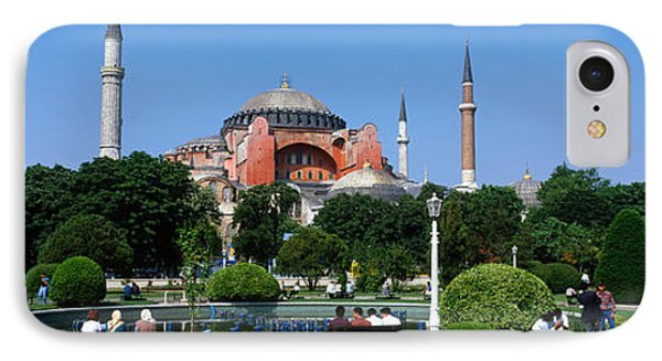 Hagia Sophia, Istanbul, Turkey IPhone Case by Panoramic Images