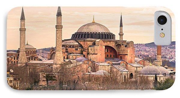 Hagia Sophia Mosque - Istanbul Phone Case by Luciano Mortula