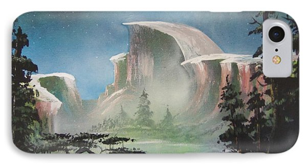 Half Dome Phone Case by Jim Hurst