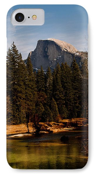 Half Dome Spring Phone Case by Bill Gallagher