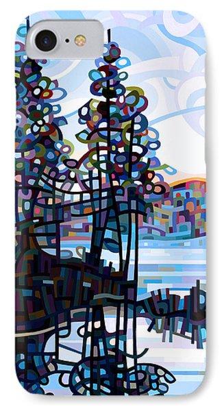 Haliburton Morning IPhone Case by Mandy Budan