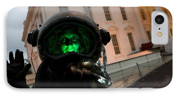 Halloween At The White House IPhone Case by JP Tripp
