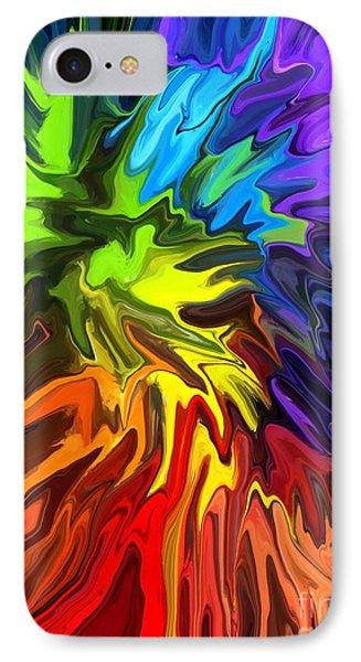 Hallucination Phone Case by Chris Butler