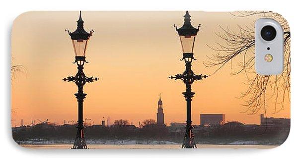 Hamburg Romance Phone Case by Marc Huebner