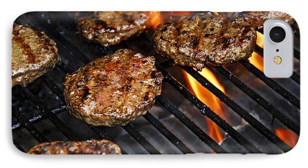Hamburgers On Barbeque IPhone Case by Elena Elisseeva