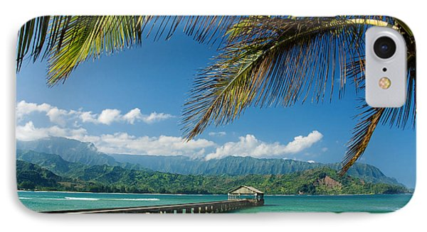 Hanalei Pier And Beach IPhone Case by M Swiet Productions