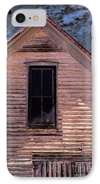 Hand In Window Phone Case by Jill Battaglia