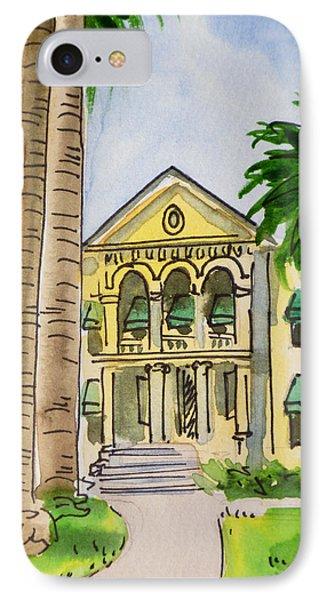 Hanford - California Sketchbook Project Phone Case by Irina Sztukowski