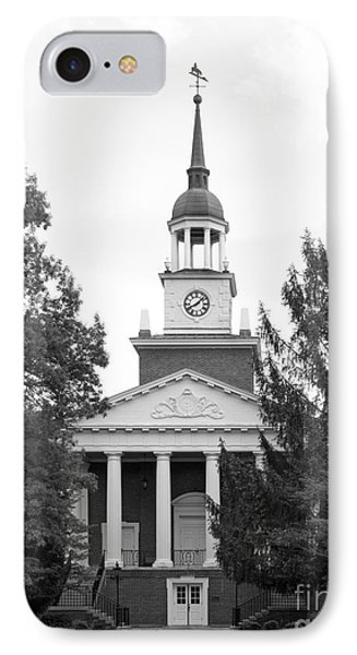 Hanover College Parker Auditorium IPhone Case by University Icons