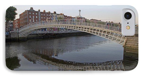 Ha'penny Bridge Dublin Ireland IPhone Case by Betsy Knapp