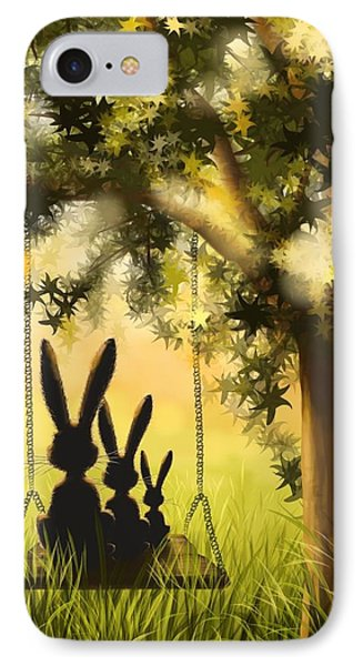 Happily Together IPhone 7 Case by Veronica Minozzi