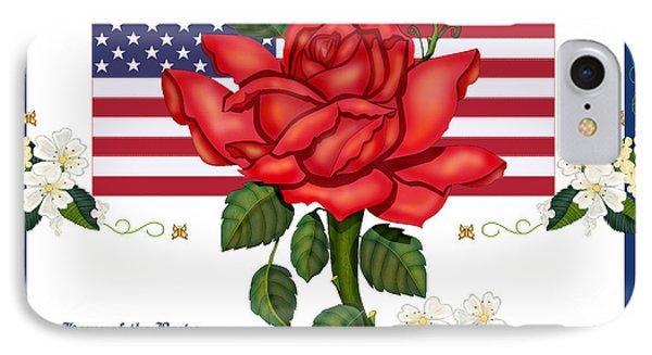 Happy Birthday America Phone Case by Anne Norskog