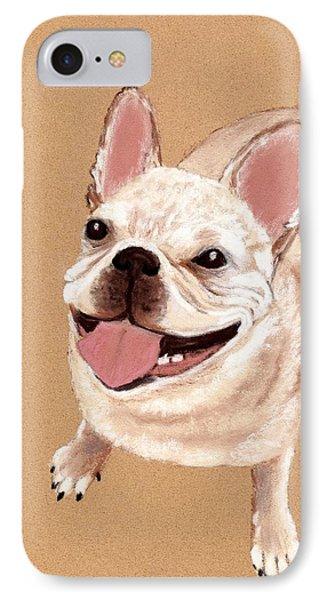 Happy Dog IPhone Case by Anastasiya Malakhova