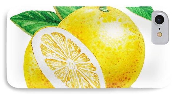 Happy Grapefruit- Irina Sztukowski IPhone 7 Case by Irina Sztukowski