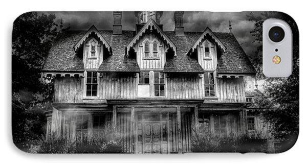 Haunted IPhone Case by Fran J Scott