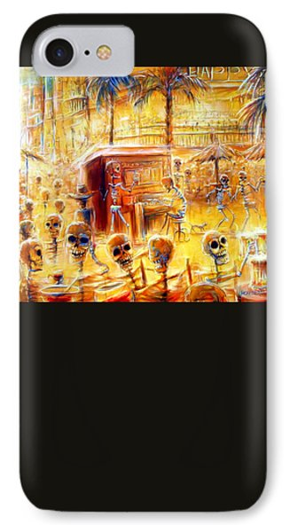Happy Hour IPhone Case by Heather Calderon