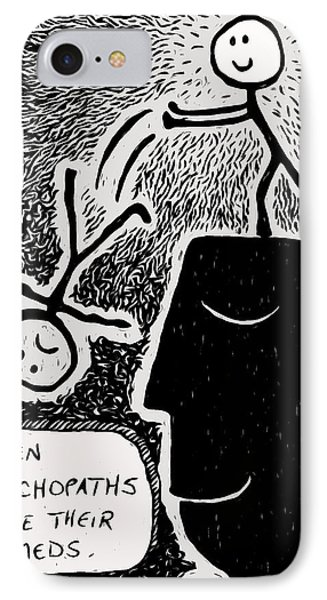 Happy Thoughts Phone Case by e9Art