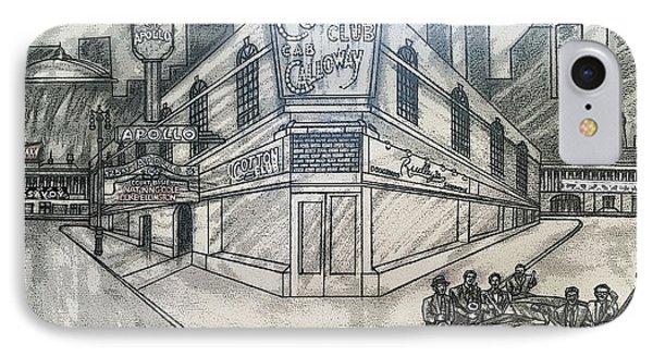 Harlem Renaissance Fantasy1 IPhone Case by Ernie Mapp