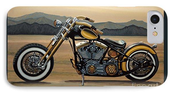 Harley Davidson IPhone Case by Paul Meijering