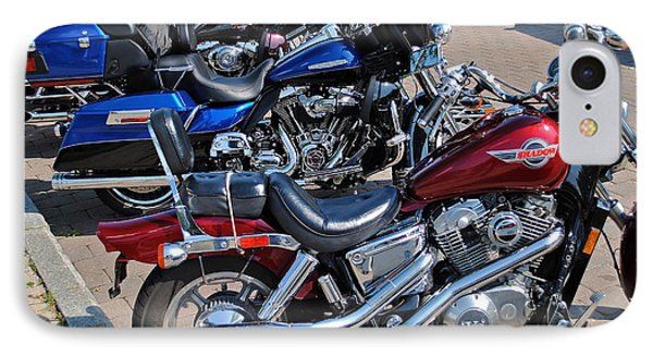 Harley Davidson Phone Case by Frozen in Time Fine Art Photography