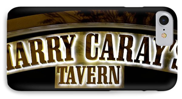 Harry Caray's Tavern IPhone Case by Frozen in Time Fine Art Photography