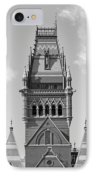 Memorial Hall At Harvard University IPhone Case by University Icons