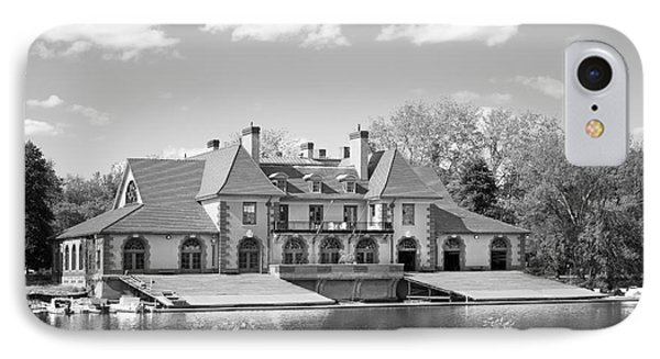 Weld Boat House At Harvard University IPhone Case by University Icons