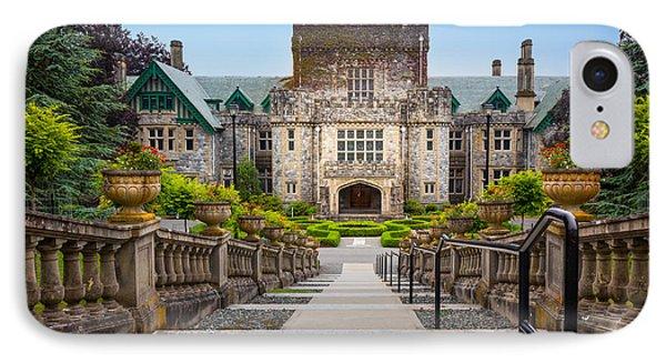 Hatley Castle IPhone Case by Inge Johnsson