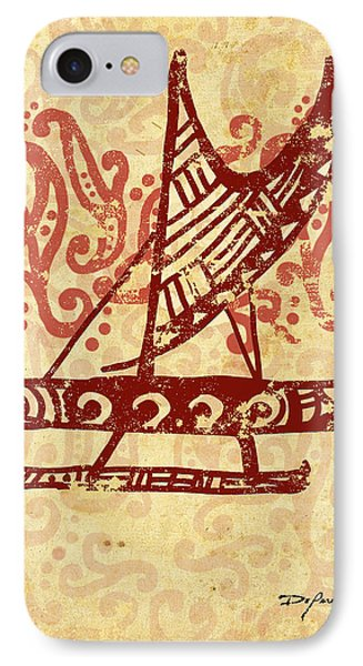 Hawaiian Canoe Phone Case by William Depaula