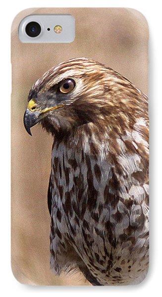 Hawk - Sphere - Bird Phone Case by Travis Truelove