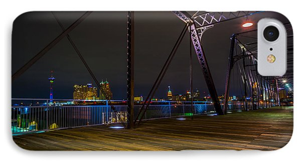 Hays Street Bridge IPhone Case by David Morefield